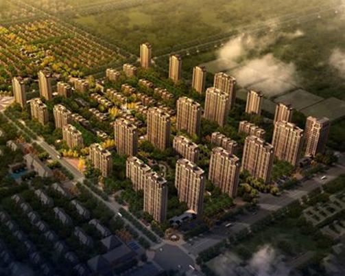 霸州溫泉新都孔雀城
